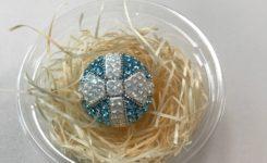 生徒さん制作のグルーデコリボンボール