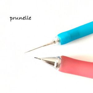 グルーデコ便利グッズ針先シャープペンとシャープペン