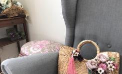prunelleが作った花かごバッグ