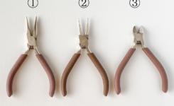 アクセサリー作りに必要な基本の工具3点